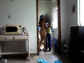 Desi wife seduce gas delivery boy